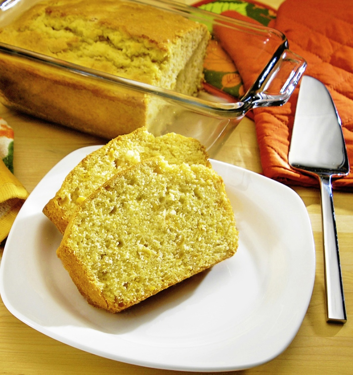 Whole Kernel Corn Bread Loaf