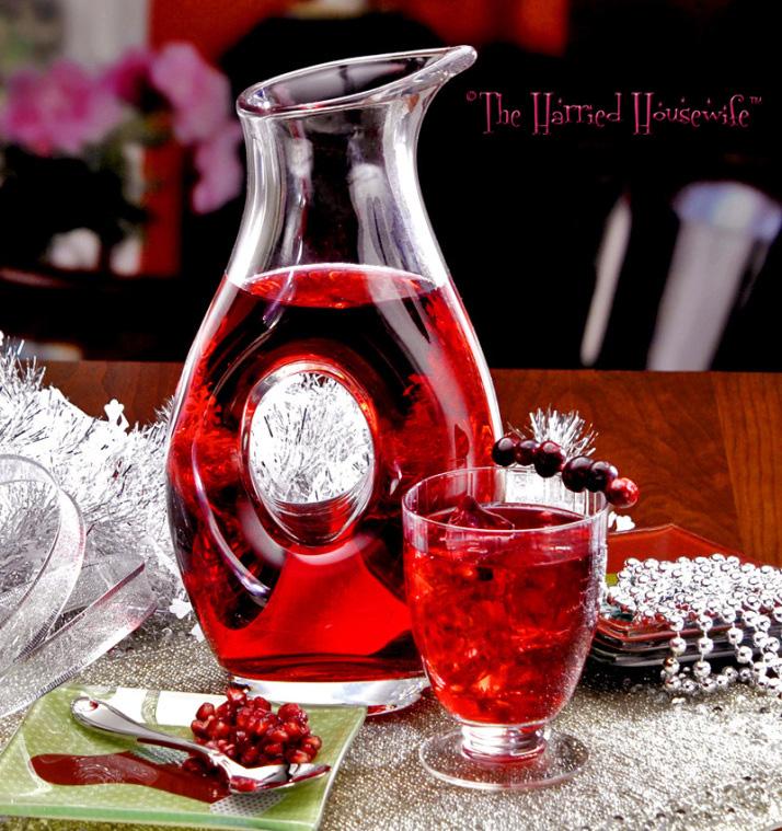 Cranberry Pomegranate Cocktails