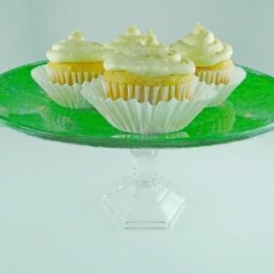 Creamy Eggnog Cupcakes