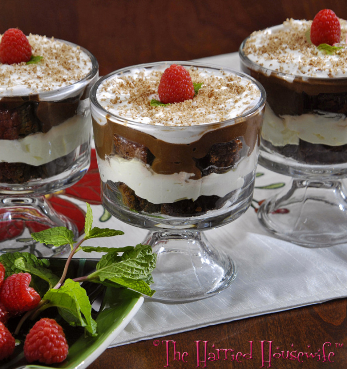Mini Brownie Trifles