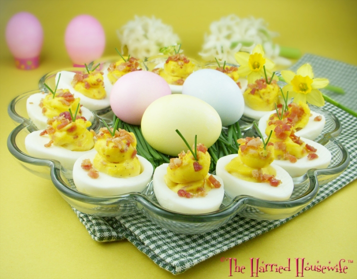 Bacon Ranch Deviled Eggs