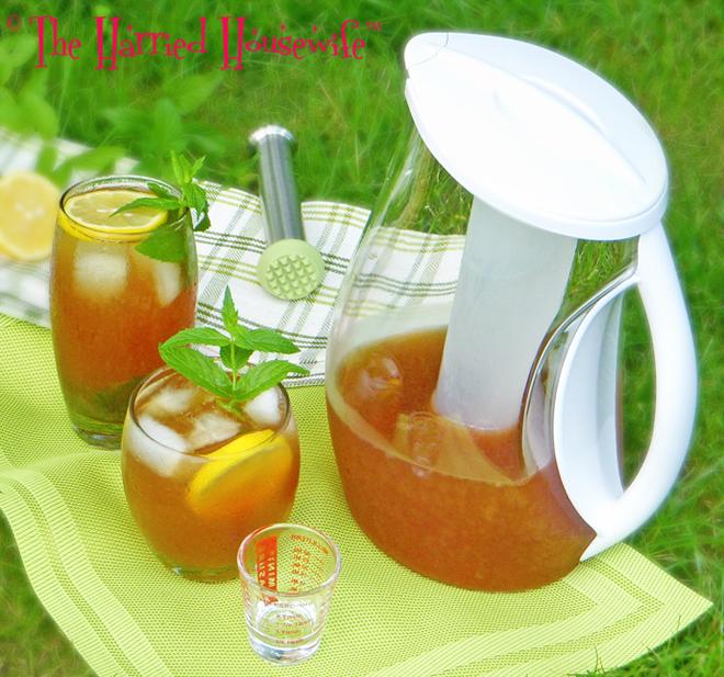 Iced Mint And Citrus Tea Recipe — Dishmaps