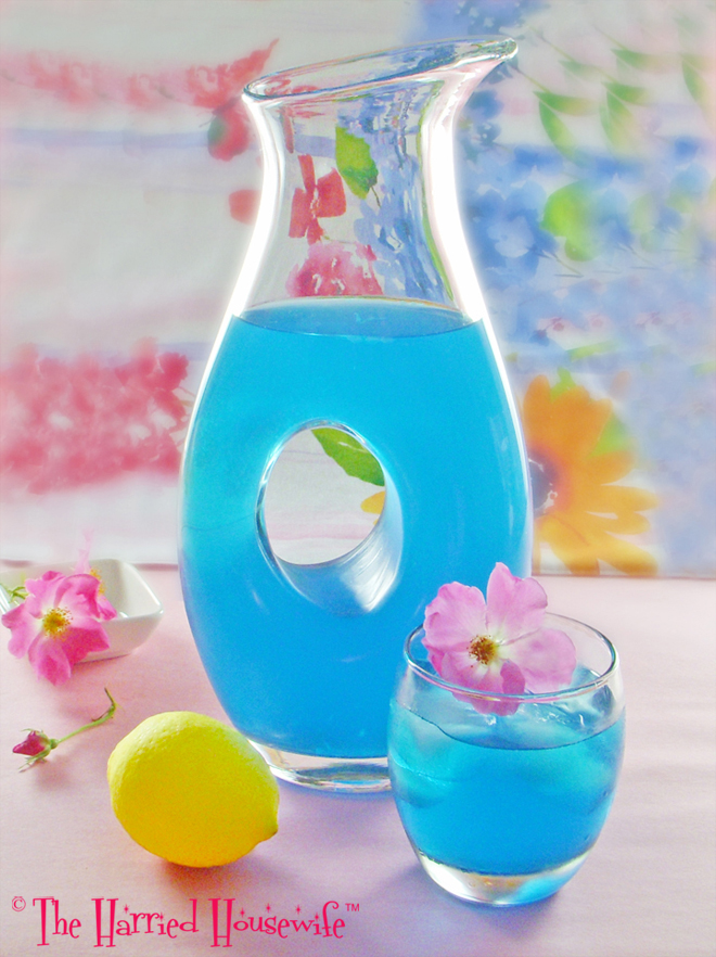 Blue Citrus Cocktails | Harried Housewife Blog