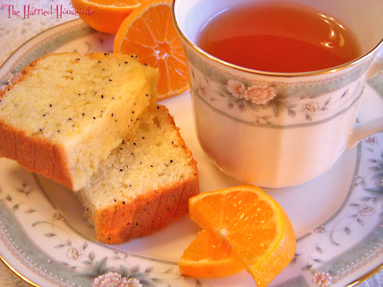 Clementine Tea Bread | Harried Housewife Blog