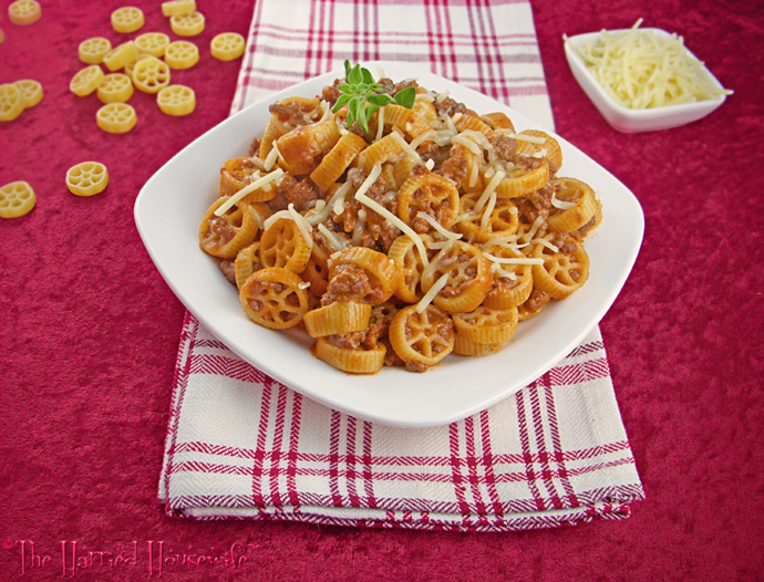 Wagon Wheel Pasta Dinner
