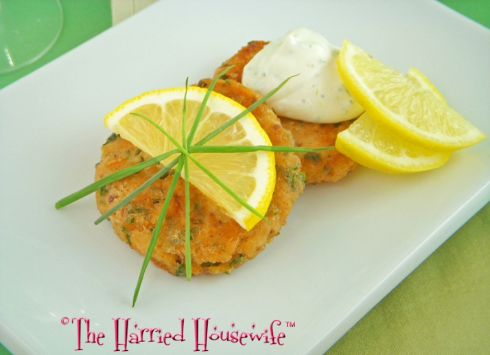 Herbed Salmon Cakes