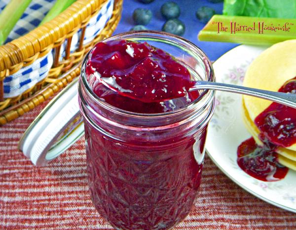 Blueberry Rhubarb Sauce