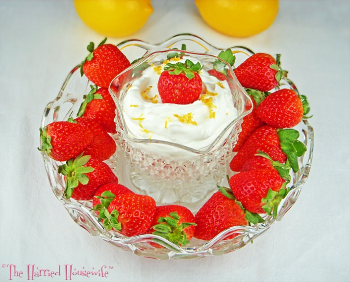 Lemon Fruit Dip