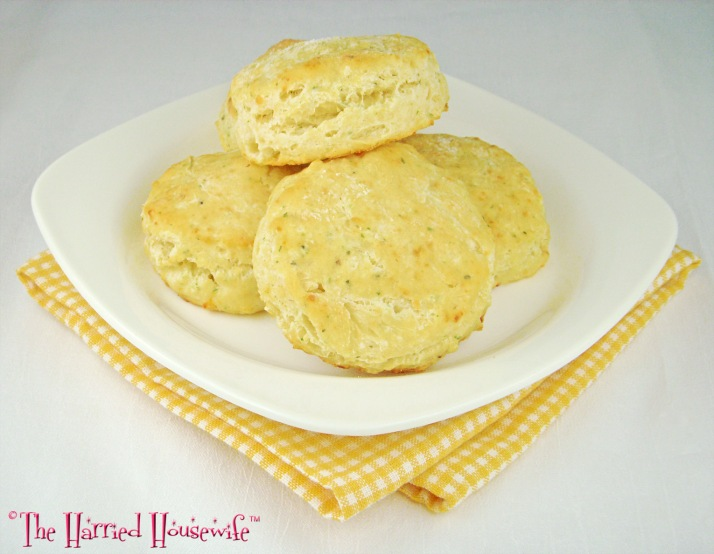 Herbed Parmesan Biscuits
