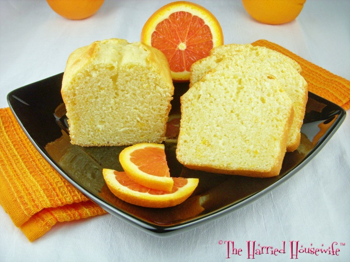 Mini Orange Loaves