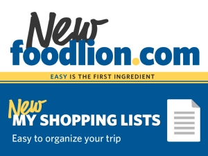 Food Lion Shopping List Harried Housewife Recipes