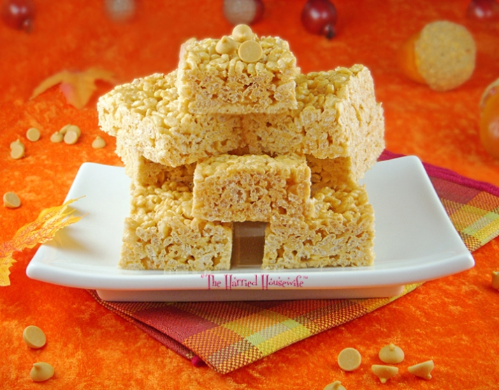 Butterscotch Crispy Treats