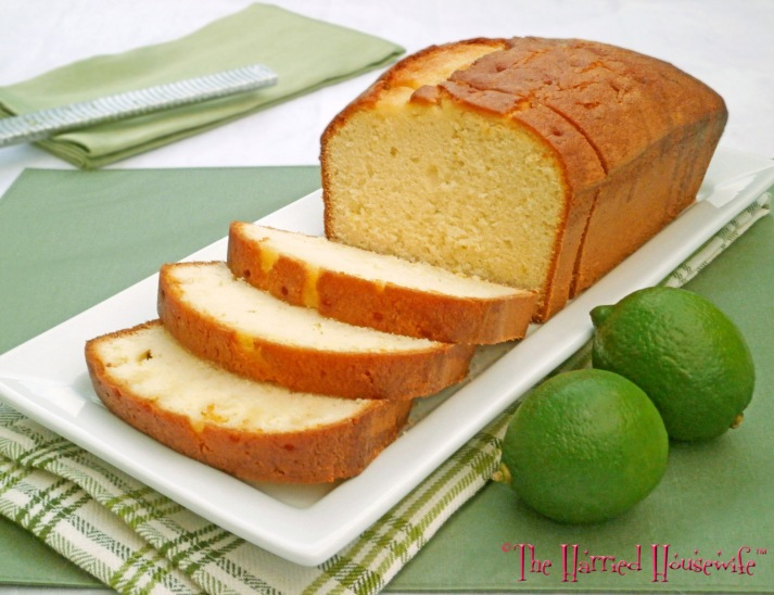 Easy Lime Pound Cake
