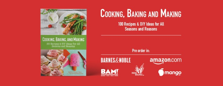 Cooking, Baking, and Making book by Cynthia O'Connor O'Hara
