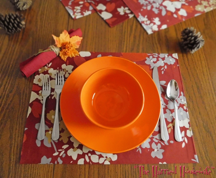 No-Sew Placemats