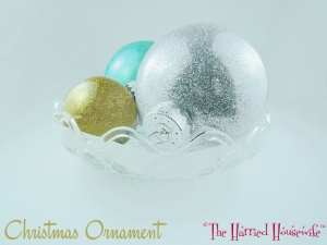 Christmas Ornament (from Cooking, Baking, and Making)